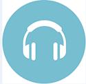 E-ljudböcker har den här symbolen.